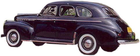 1940 And 1942 Chevrolet 4 Door Sedan Replacement Headliner