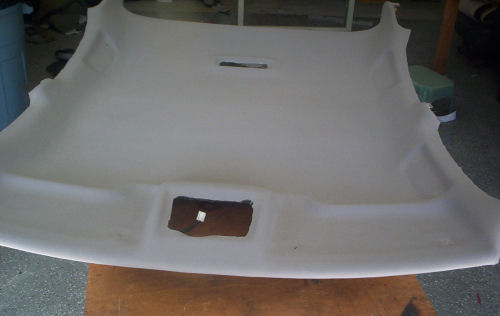 Newly Recovered Headliner Board Mazda With Car Interior Headliner