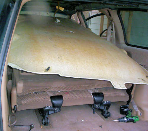 A Guide On How To Install Your Own Headliner In A 1999