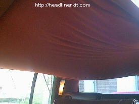 2002 Dodge Grand Caravan >> Step by step tutorial on replacing a Cadillac headliner.