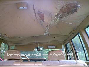 Remove All The Trim From Outside Of Headliner And Sunvisors It Is A Good Rule Thumb To Start Removing Front Back