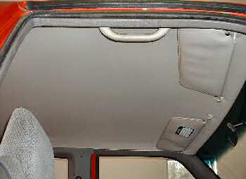 Recovered Headliner Board For Dodge Dakota Replaced The In Truck